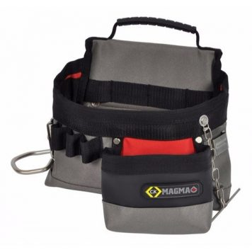 C.K Magma Weatherproof Electricians Tool Storage Belt Pouch