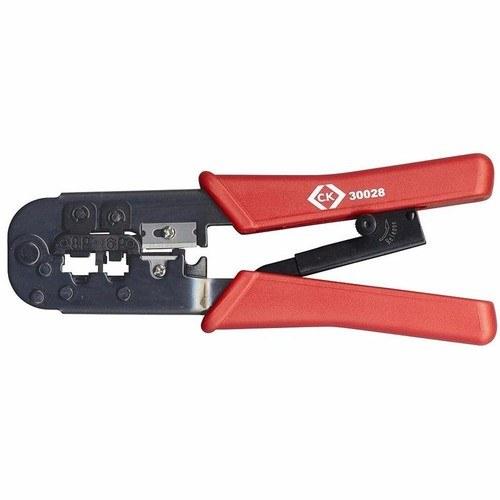 C.K Tools Ratchet Crimping Pliers For Modular Plugs (RJ11, RJ12, RJ45)
