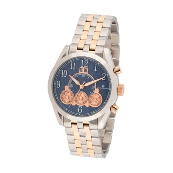Constantin Weisz Gent's Automatic Multi-Function Watch with Stainless Steel Bracelet