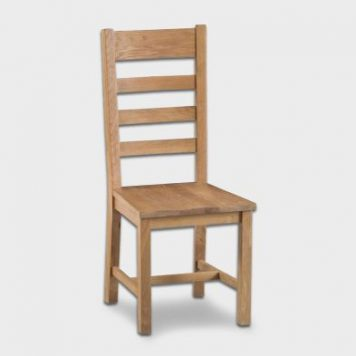 Cotswold Ladder Back Dining Chair Oak