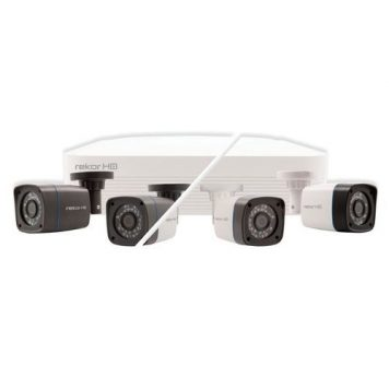ESP 4 Channel 500GB Rekor HD CCTV Bullet Kit - 2 Camera - Grey