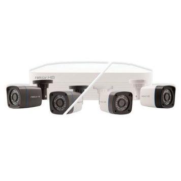 ESP 4 Channel 500GB Rekor HD CCTV Bullet Kit - 4 Camera - White