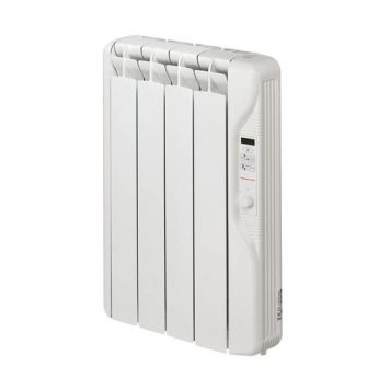 Elnur 0.5kW 24 Hour Digital 4 Module Oil Filled Electric Panel Radiator Heater