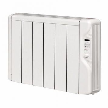 Elnur 0.75kW 24 Hour Digital 6 Module Oil Free Thermal Electric Panel Radiator Heater