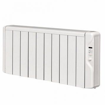 Elnur 1.25kW 24 Hour Digital 10 Module Oil Free Thermal Electric Panel Radiator Heater