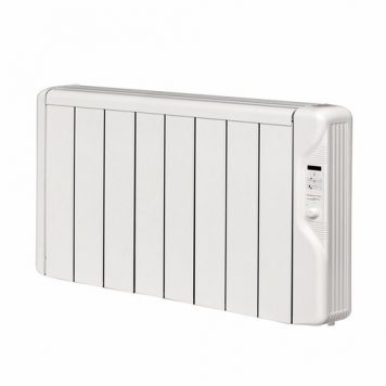 Elnur 1kW 24 Hour Digital 8 Module Oil Free Thermal Electric Panel Radiator Heater