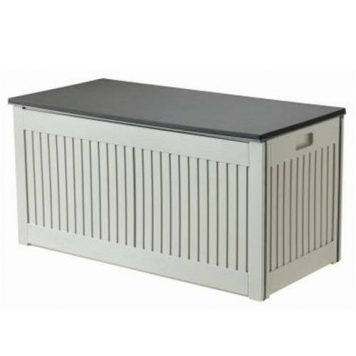 Green Blade 270 Litre Grey Outdoor Plastic Storage Box