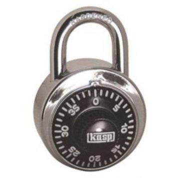Kasp Dial Combination Lock 45mm Open Shackle Security Padlock
