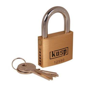 Kasp Premium Brass Padlock Semi Assembled - 50mm