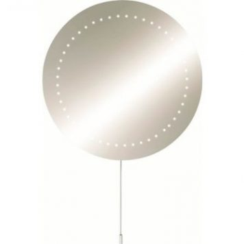 KnightsBridge IP44 Round LED Bathroom Mirror