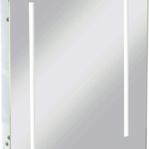 KnightsBridge LED Illuminated Bathroom Wall Mirror IP44 & Shaver Socket