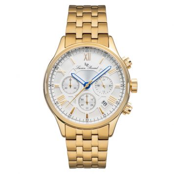 Lucien Piccard Gent's Cooper Watch with Stainless Steel Bracelet