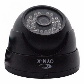OYN-X Fixed Analogue CCTV Dome Camera - Black