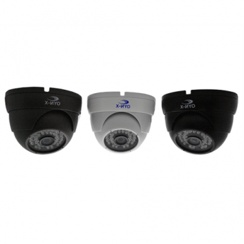 OYN-X Varifocal CVI CCTV Dome Camera - Black