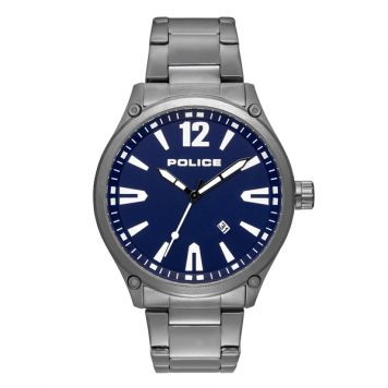 Police Gent's Denton Watch with Stainless Steel Bracelet