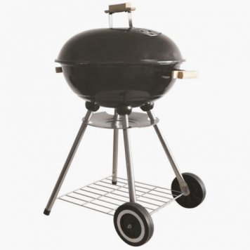 Redwood 18 Portable Black Barbecue With Enameled Finish