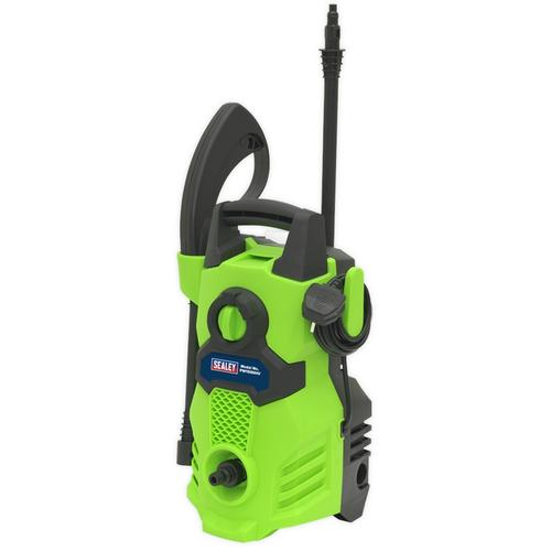 Sealey 105 Bar Hi-Vis Green Pressure Washer with TSS