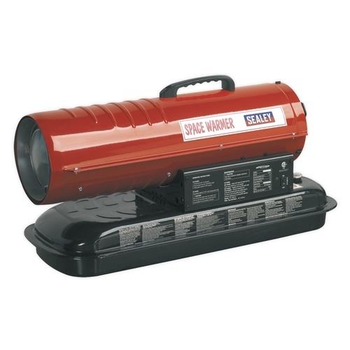 Sealey 45,000Btu Space Warmer Paraffin & Diesel Heater - No Wheels
