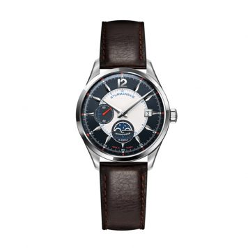 Sturmanskie Gent's Limited Edition Moonphase Watch with Genuine Leather Strap