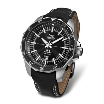 Vostok Europe Gent's N1 Rocket Automatic Watch with Genuine Leather Strap