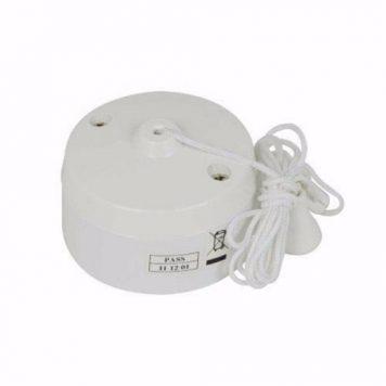Zexum 6 Amp Two Way Bathroom Ceiling Light Pullcord Switch
