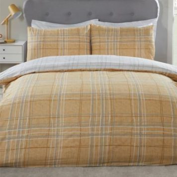 Hamilton McBride Harvard Single Duvet Cover Yellow