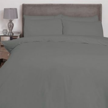 Hamilton McBride Single Duvet Cover Charcoal