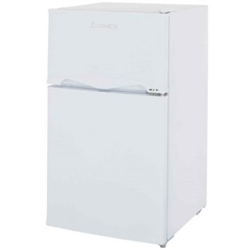 LEC T50084 92 Litre Under Counter Fridge Freezer - White