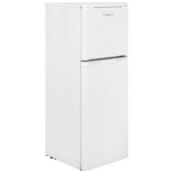 LEC T50122W 136 Litre Free Standing Fridge Freezer - White
