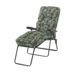 Glendale Deluxe Repose Leaf Lounger Chair Green