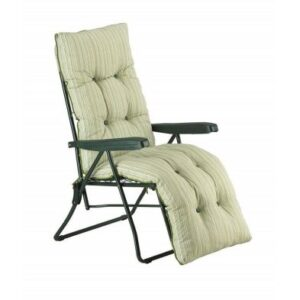 Glendale Deluxe Repose Stripe Relaxer Chair Sage
