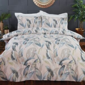 Hamilton McBride Feather Blush King Duvet Cover