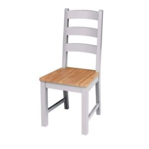 Lucerne Oak Grey Dining Chair