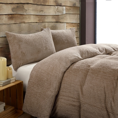 Toastie Mink Double Duvet Set