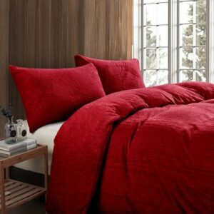 Toastie Red Single Duvet Set