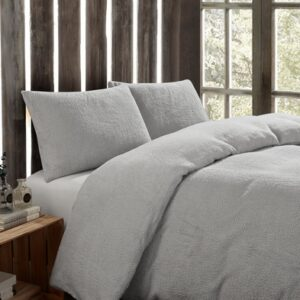 Toastie Silver Double Duvet Set