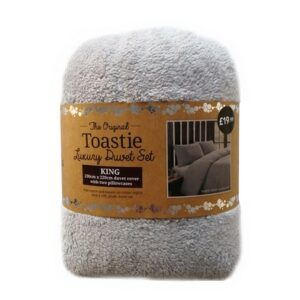 Toastie Silver King Duvet Set