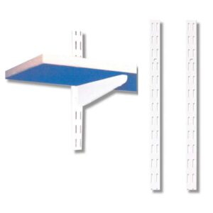 1000mm h Uprights for Twinslot wall mounted shelving (pk 10)