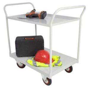3 Tier Shelf Trolley With Mesh 1050 x 1200 x 600