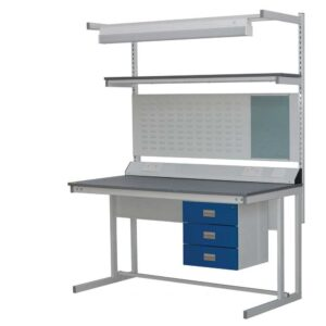 BC Lino top Cantilever Workbench 1500w x 750d