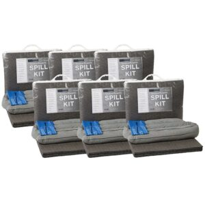 Box of 6 Chemical 20litre spill kits