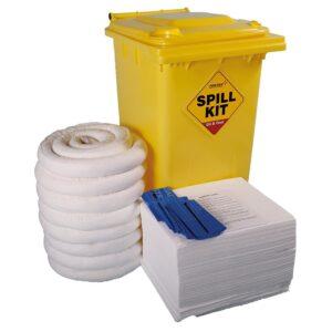 Chemical Emergency Spill Kits - 240 litre Drum Large Workshop Kit