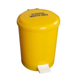 Clinical Waste Only Sticker for Yellow Pedal Bins (order with bin)