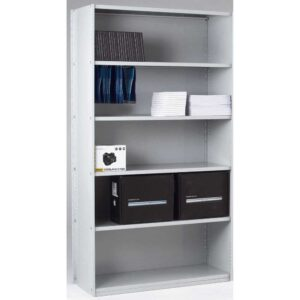 Closed Back Solo Shelving Extension Bay - 2150 x 1000 x 450 6 Shelves