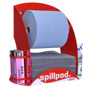 Duo Spill Pod Dispenser Station General Purpose