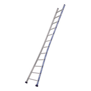 EN131 Rated Professional Ladder with Splayed Base- 14 rungs - 4080mm high