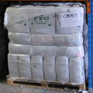 EVO Recycled Absorbent Spill Cleaning Rags - PALLET Towelling coloured
