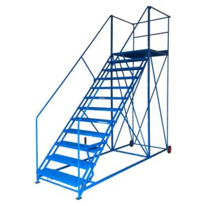 Easy Slope 9 Safety Steps 559mm wide treads 1943mm high platform
