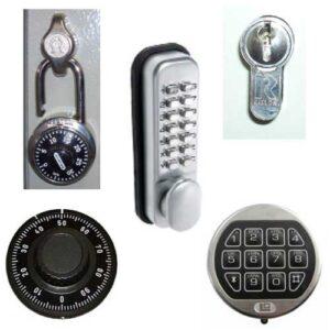 Electronic Camlock Locking Option for KS Security Key Cabinets