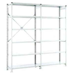 Euro Shelving Open Bay - 6 shelf Extension 1800h x 1000w x 450d